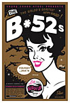 Scrojo The B-52's Poster