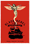 Scrojo Black Rebel Motorcycle Club Poster