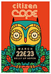 Scrojo Citizen Cope Poster