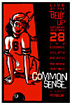 Scrojo Common Sense Poster