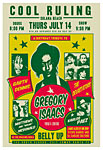 Scrojo Cool Ruling - Gregory Isaacs Tribute Poster