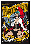 Scrojo Freddy and the Fishsticks (Jimmy Buffett) Poster