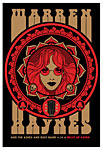 Scrojo Warren Haynes and the Ashes and Dust Band Poster