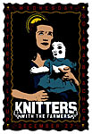 Scrojo The Knitters Poster
