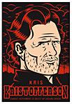 Scrojo Kris Kristofferson Poster