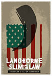 Scrojo Langhorne Slim and the Law Poster