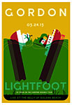 Scrojo Gordon Lightfoot Poster