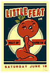Scrojo Little Feat Poster