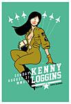 Scrojo Kenny Loggins Poster