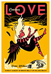 Scrojo Courtney Love Poster