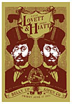 Scrojo Lyle Lovett and John Hiatt Poster