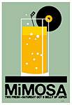 Scrojo Mimosa Poster