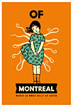 Scrojo Of Montreal Poster