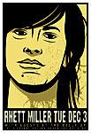 Scrojo Rhett Miller Poster