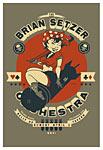 Scrojo The Brian Setzer Orchestra Poster