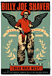 Scrojo Billy Joe Shaver Poster