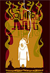 Scrojo Squirrel Nut Zippers Poster