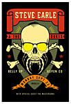 Scrojo Steve Earle and the Dukes Poster