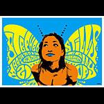 Scrojo Stephen Stills Poster