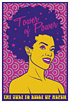 Scrojo Tower of Power Poster