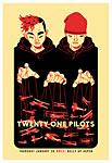 Scrojo Twenty One Pilots Poster