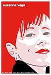 Scrojo Suzanne Vega Poster